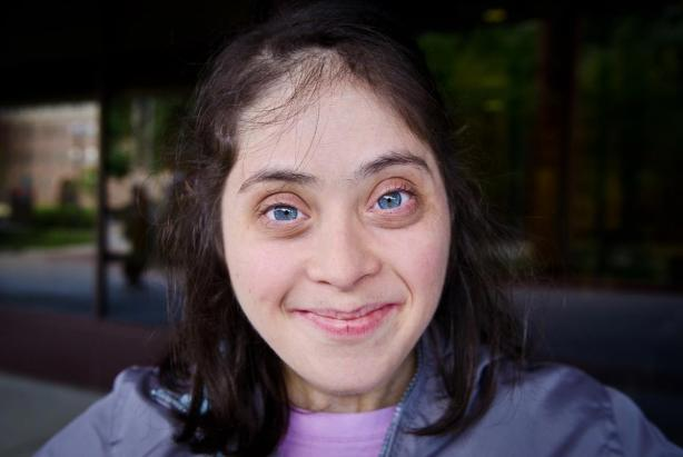 with an open heart . Down Syndrome
