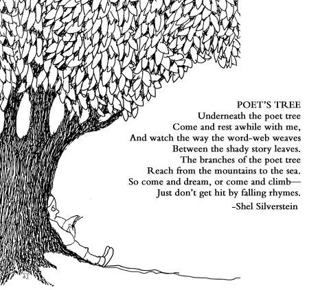 poetry shel silverstein   With an Open Heart